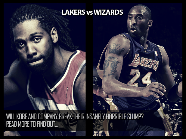 LAKERS vs WIZARDS